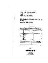 Singer W1126 - English - User Manual