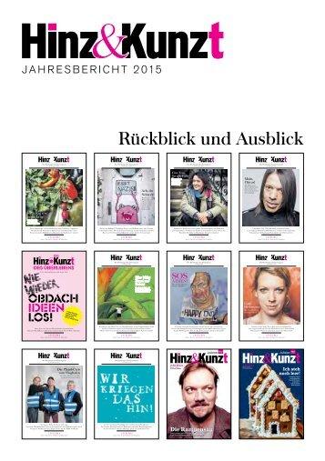 Hinz&Kunzt Jahresbericht 2015