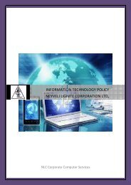 NLC -  IT Policy 21.5.2015