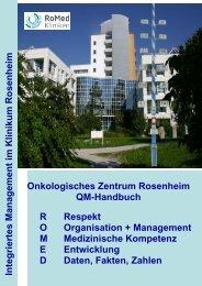 Integriertes Management im Klinikum Rosenheim ... - RoMed Kliniken
