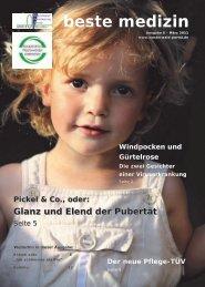 Pickel & Co., oder: Glanz und Elend der Pubertät - Westerwald-Portal