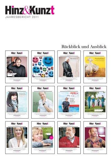 Hinz&Kunzt Jahresbericht 2011