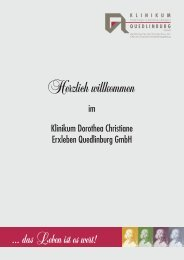 Klinikum Dorothea Christiane Erxleben Quedlinburg GmbH