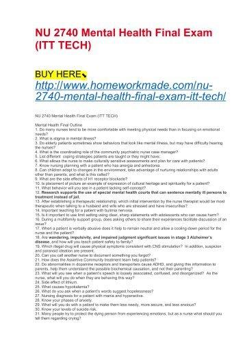 Is3230 final exam itt tech nu 2740 mental health final exam itt tech fandeluxe Choice Image