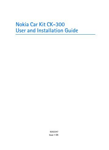 nokia car kit ck 300 nokia car kit ck 300?quality=85 user manual nokia bluetooth display car kit ck 15w nokia bluetooth car kit wiring diagram at gsmportal.co