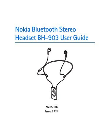 Nokia bluetooth stereo headset bh 503