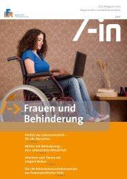 Die UN-Behindertenrechtskonvention aus frauenspezifischer Sicht
