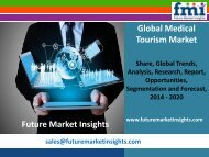 Trends in the Medical Tourism Market 2014-2020