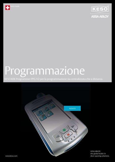 Programmazione - ASSA ABLOY (Switzerland) AG