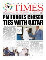 Caribbean Times 11th Issue - Monday 10th October 2016
