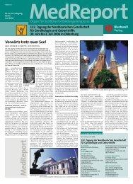 MedReport Nr.22 vom Juni 2006 / Seite 12 - Gyn - Verbund - Berlin eV