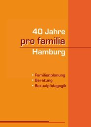 pro familia - Common Sense - Marketing + Kommunikation