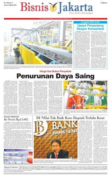 Bisnis Jakarta 7 Oktober 2016