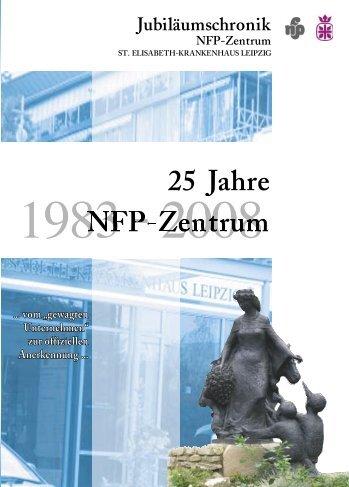 Jubiläumschronik 25 Jahre NFP-Zentrum - NFP- Zentrum Leipzig