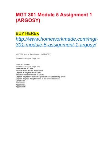 mgt 301 module 5 slp Search results for 'mgt 301 planning slp mod2' mgt 301 module 1 slp wal-mart is one of the most recognized stores in the world the company has become successful.