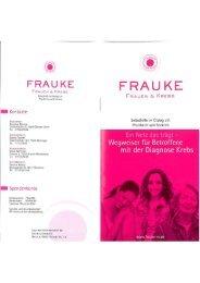 Frauke Broschüre - Sozialen Netzwerk Mühlacker