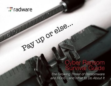 Cyber Ransom Survival Guide
