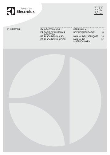 Electrolux EHH6332FOK - Télécharger FR manuel au format PDF (11664 Kb)