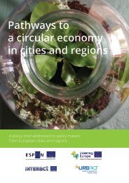 Pathways to a circular economy in cities and regions