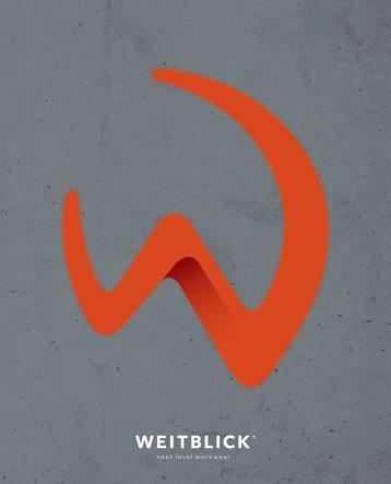 WEITBLICK Brandbook 2016