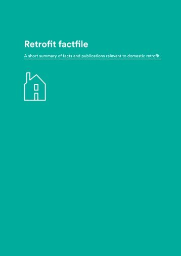 Retrofit factfile