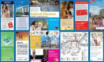 Goldstadt Pforzheim - Wirtschaft und Stadtmarketing Pforzheim | WSP