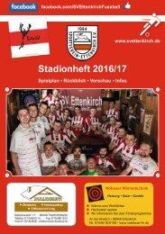 Stadionmagazin 2016-2017 SV Ettenkirch