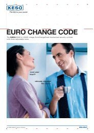 EURO CHANGE CODE - ASSA ABLOY (Switzerland) AG
