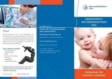 KinderwunSch- und hormonzentrum Jena - Abteilung ...