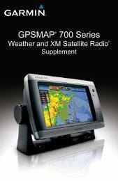 Garmin GPSMAP740s/GMR18HD Bundle - Weather Supplement