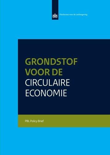 GRONDSTOF VOOR DE CIRCULAIRE ECONOMIE