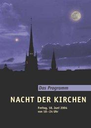 NACHT DER KIRCHEN - Kirchen im Landkreis Peine