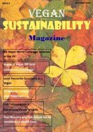 Vegan Sustainability Magazine - Autumn 2016