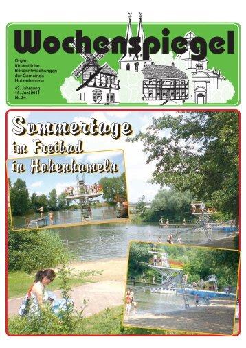 Sonntag, 3. Juli 2011 Um: 11.00 Uhr Wo - in der Gemeinde ...