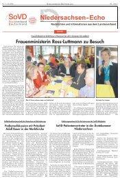 Frauenministerin Ross-Luttmann zu Besuch - Sozialverband ...