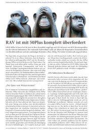 RAV mit 50Plus komplett überfordert 09.10.16