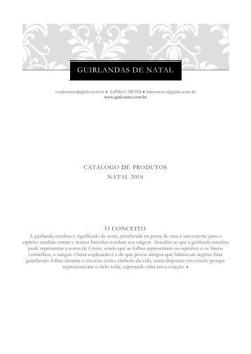 ginko artes catalogo