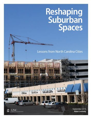 Reshaping Suburban Spaces
