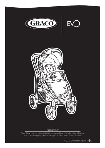 Graco GRACO EVO - GRACO EVO mode d'emploi