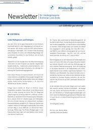 Ausgabe 1-2012 - Klinikum Darmstadt