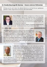 Unsere externen Referenten - DYNAMED GmbH