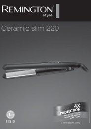 Remington S1510 - S1510 mode d'emploi