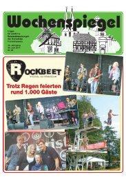 Ausgabe 26/2011 - in der Gemeinde Hohenhameln