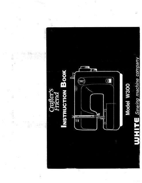 Singer W300 - English - User Manual
