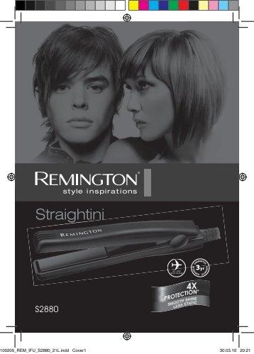 Remington S2880 - S2880 mode d'emploi