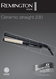 Remington S3500 - S3500 mode d'emploi