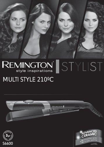 Remington S6600 - S6600 mode d'emploi