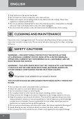 Remington S6600 - S6600 mode d'emploi - Page 6