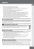Remington AQ7 - AQ7 mode d'emploi - Page 5