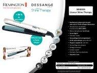 Remington Lisseur Remington S8503DS J.DESSANGE - fiche produit